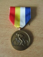 Cyclisme - Médaille De La Reconnaissance - F.F.C Comité Poitou Charente - Bronze - Signée CAM. - Superbe - Cycling