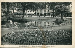 CPA -  BORDEAUX - PLACE GAMBETTA - LE JARDIN - Bordeaux