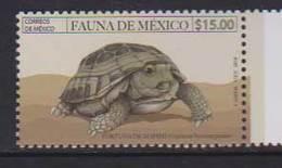 MEXICO, 2018, MNH, FAUNA OF MEXICO, TURTLES, 1v - Turtles