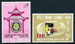 Vietnam Del Sur Nº 323/4 Nuevo - Vietnam
