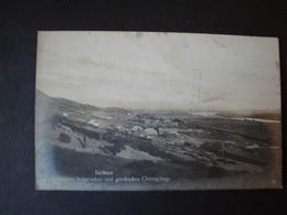 Serbien, Serbisches - Bulgarisches - Und Griechisches Grenzgebirge, Gelaufen 1917 - Serbien