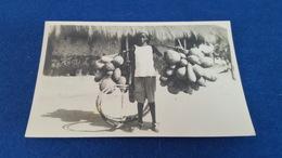 "ANTIQUE PHOTO POSTCARD PORTUGUESE GUINEA  - ETHNOGRAPHIC "" DESTRIBUIDOR DE VINHO DE PALMA - BULA "" UNUSED - Guinea-Bissau"