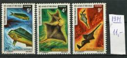 265753 French Territory Afars & Issas 1976 Year Stamps FISHES - Fishes