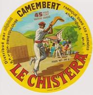 ETIQUETTE CAMEMBERT LE CHISTERA - Quesos