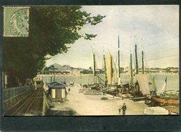 CPA - ROYAN - Le Port, Animé - Tramway, Bateaux De Pêche - Royan