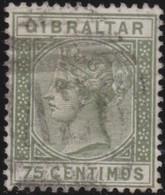 Gibraltar .   SG   .  29   .   .   O     .     Cancelled  .    /    .   Gebruikt - Gibraltar