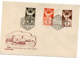 Carta Con Matasellos  Aereo  Sidi-ifni. 1951 - Ifni