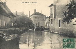 MONTEAUX . L'ABREUVOIR - Francia