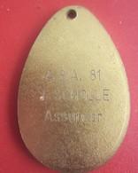 1981-TOURNOI VILLE DE MARSEILLE ASA -MEDAILLON MEDAILLE REMISE RECOMPENSE-CLUB DE FOOT--Sports Football ,Souvenir & Logo - Other