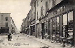 PEAGE De ROUSSILLON - LOT De 2 CPA   - - France