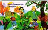 Thailand Phonecard TOT Nr. 038 Children Kinder - Thaïland