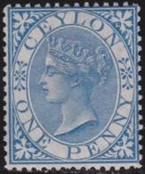 Ceylon     .     SG      .  61 .   .    (*)          .  No Gum    .    /    .    Geen Gom - Ceylon (...-1947)
