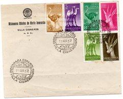 Carta Con Matasellos Sahara Español  Villa Cisneros. 1957 - Sahara Español