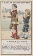 Chromos - Chromo Guérin-Boutron - Sciences - Bougie Entonnoire - Guerin Boutron