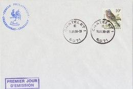BELGIUM Enveloppe Vink.BARGAIN.!! - 1985-.. Vogels (Buzin)