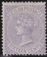 Ceylon     .     SG      .  126  .   .    *       .    Mint-hinged    .    /    .   Ongebruikt - Ceylon (...-1947)