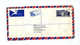 Lettre Recommandee Isando Sur Palais - Afrique Du Sud (1961-...)