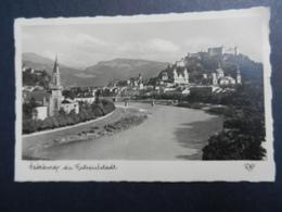 19925)  SALZBURG DIE FUTSPIELSTADT VIAGGIATA - Salzburg Stadt