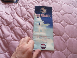 AIR FRANCE ,cartes Itinéraires DUNLOP ,,, FRANCE A.E.F.,,A.O.F. - Advertisements