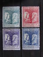 """ITALIA Colonie Tripolitania -1928- """"Pro Società Africana"""" Cpl. 4 Val. MH* (descrizione) - Tripolitaine"""