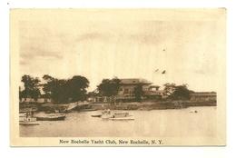 NEW ROCHELLE YACHT CLUB NEW YORK ETATS UNIS - Long Island
