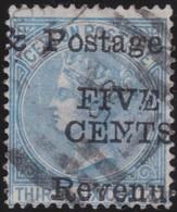 Ceylon     .     SG      .    156     .      O    .   Cancelled    .    /    .   Gebruikt - Ceylon (...-1947)