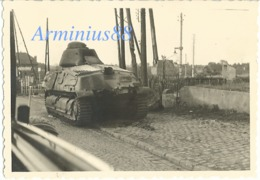 Campagne De France 1940 - RN 45 à Landrecies Direction Guise: 26,5 Km - Somua S-35 - Wehrmacht Im Vormarsch Nach Cambrai - Guerre, Militaire