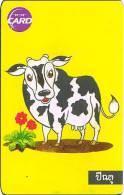 Thailand Phonecard TOT New Nr.032  KUH Animal Horoskop Zodiak - Thaïland