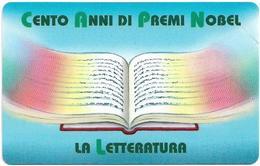 San Marino - La Letteratura - 1€, 9.000ex, 25.02.2002, Mint - San Marino