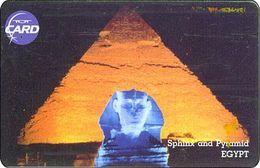 Thailand Phonecard TOT New Nr.104 Pyramide Agypten - Thaïland