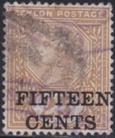 Ceylon     .     SG      .   239      .      O    .   Cancelled    .    /    .   Gebruikt - Ceylon (...-1947)