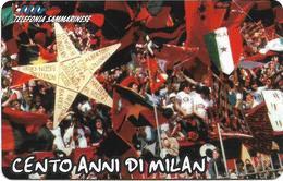 San Marino - Milan Fans, 06.1999, 4.000₤, 25.000ex, Mint - San Marino