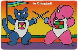 San Marino - Olympic Games - Fencing - 2.000L, 14.000ex, 01.09.2000, Mint - San Marino