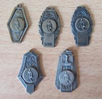 France - Lot De 5 Médailles URPSO (U.R.P.S.O) - Union Régionale Des Patronages Du Sud-ouest - Années 1960 - Sports