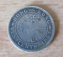 Hong-Kong - Monnaie 10 CEnts (Ten Cents) 1894 Victoria - Hong Kong