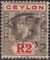 Ceylon     .     SG      .   316        .      O    .   Cancelled    .    /    .   Gebruikt - Ceylon (...-1947)
