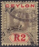 Ceylon     .     SG      .   316b        .      O    .   Cancelled    .    /    .   Gebruikt - Ceylon (...-1947)