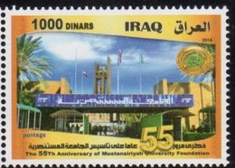 IRAQ, 2018, MNH, EDUCATION, UNIVERSITY, 1v - Stamps