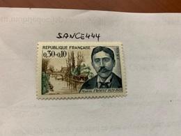 France Famous M. Proust Novelist 1966 Mnh - France