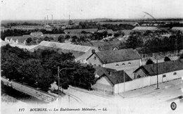 2744 Cpa 18 Bourges - Les Etablissements Militaires - Bourges