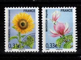 Preobliteres - YV 257 à 258 N** Orchidees Cote 6 Euros - 1989-....
