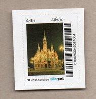 Privatpost -  Biberpost  - Kirche Liberec - BRD