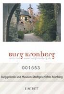 Kronberg Im Taunus Eintrittskarte Burg Kronberg - Eintrittskarten
