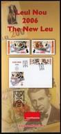 Romania 2006 / The New Leu / Prospectus, Leaflet, Brochure - 1948-.... Républiques