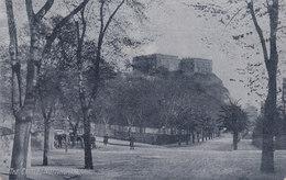 United Kingdom PPC The Castle, Nottingham 'Palatine Series' NITON Isle Of Wight 1908 To NEWPORT EdW. VII. Stamp - Nottingham