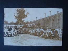Gruss Vom Truppenübungsplatz Munster, Soldaten Vor Den Baracken, Gelaufen 1907 - Guerre 1914-18