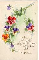 Cart Artisanale A La Main - Fleurs - Bonne Fete  (113139) - Peintures & Tableaux
