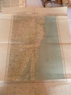 Carte Topographique Madagascar Tamatave 1954 - Cartes Topographiques