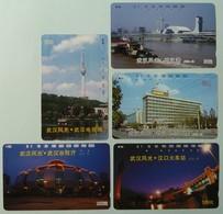 CHINA - Tamura - Hubei - J2 - 13 To 17 - Set Of 5 - Used - Chine