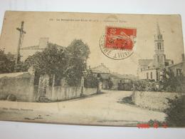 C.P.A.- La Boissière Sur Evre (49) - Calvaire Et Eglise - 1918 - TB (BF73) - France